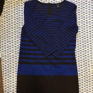 Striped Ann Taylor Dress